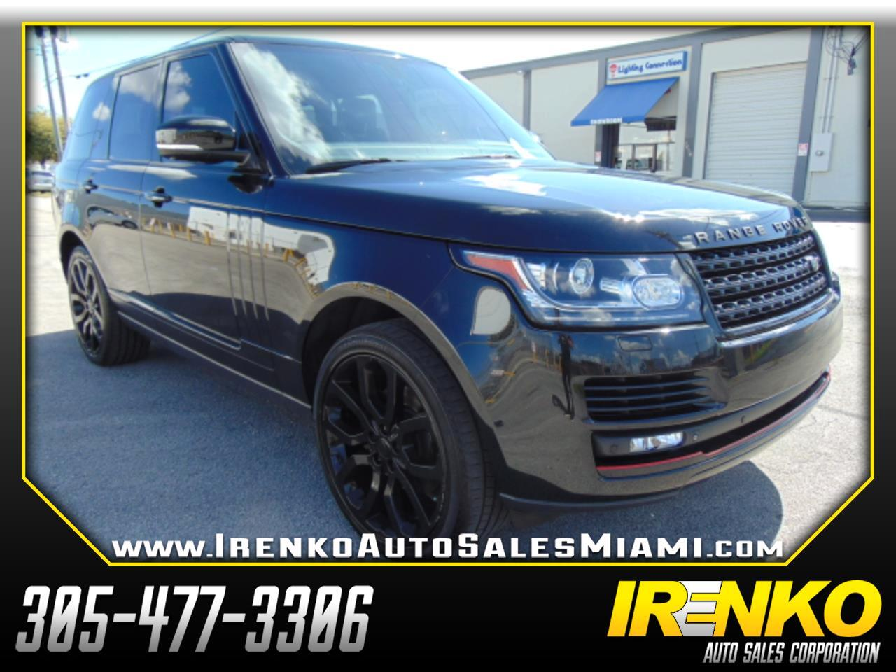 2015 Land Rover Range Rover 4WD 4dr HSE