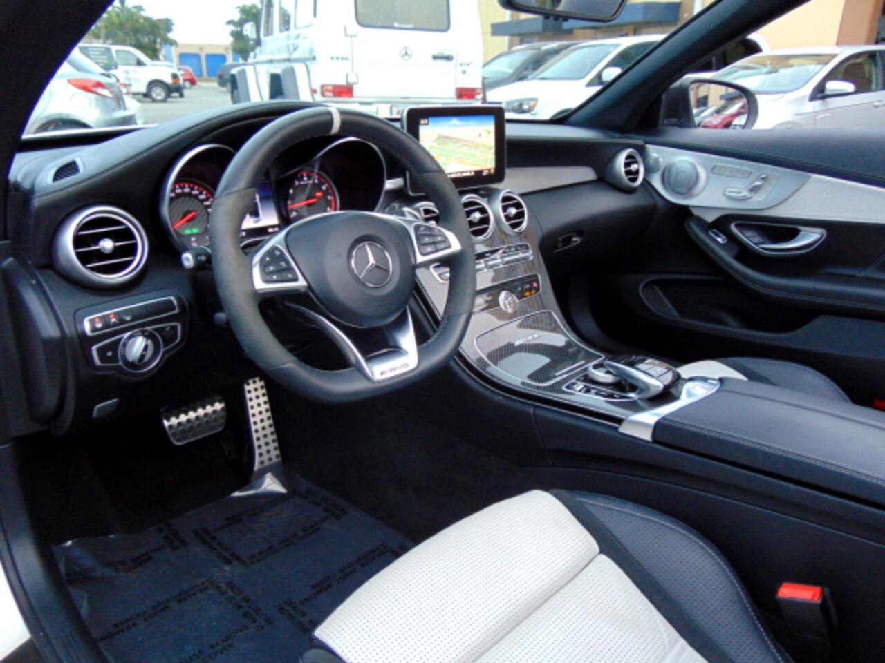 2018 Mercedes-Benz C-Class AMG C 63 S Cabriolet