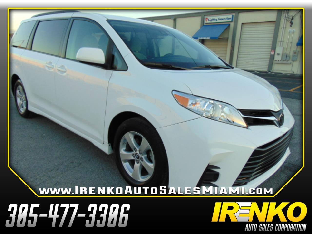 2018 Toyota Sienna LE FWD 8-Passenger (Natl)