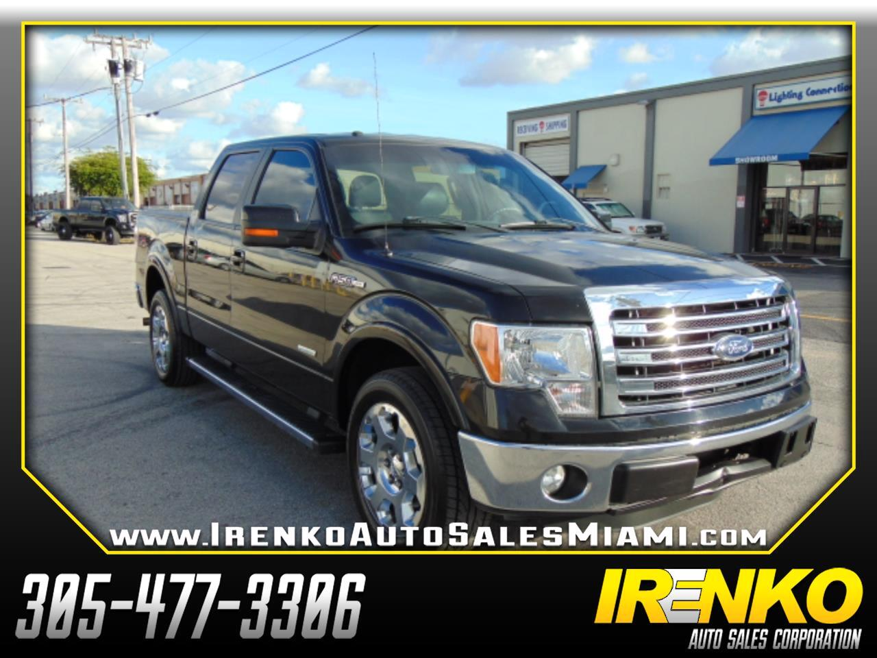 "2013 Ford F-150 2WD SuperCrew 145"" King Ranch"