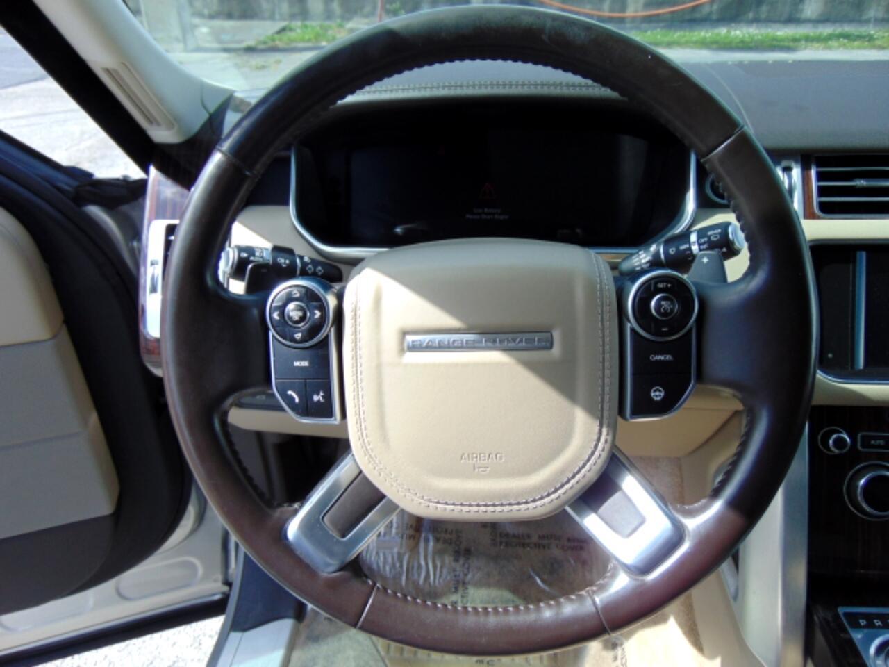 2015 Land Rover Range Rover 4WD 4dr