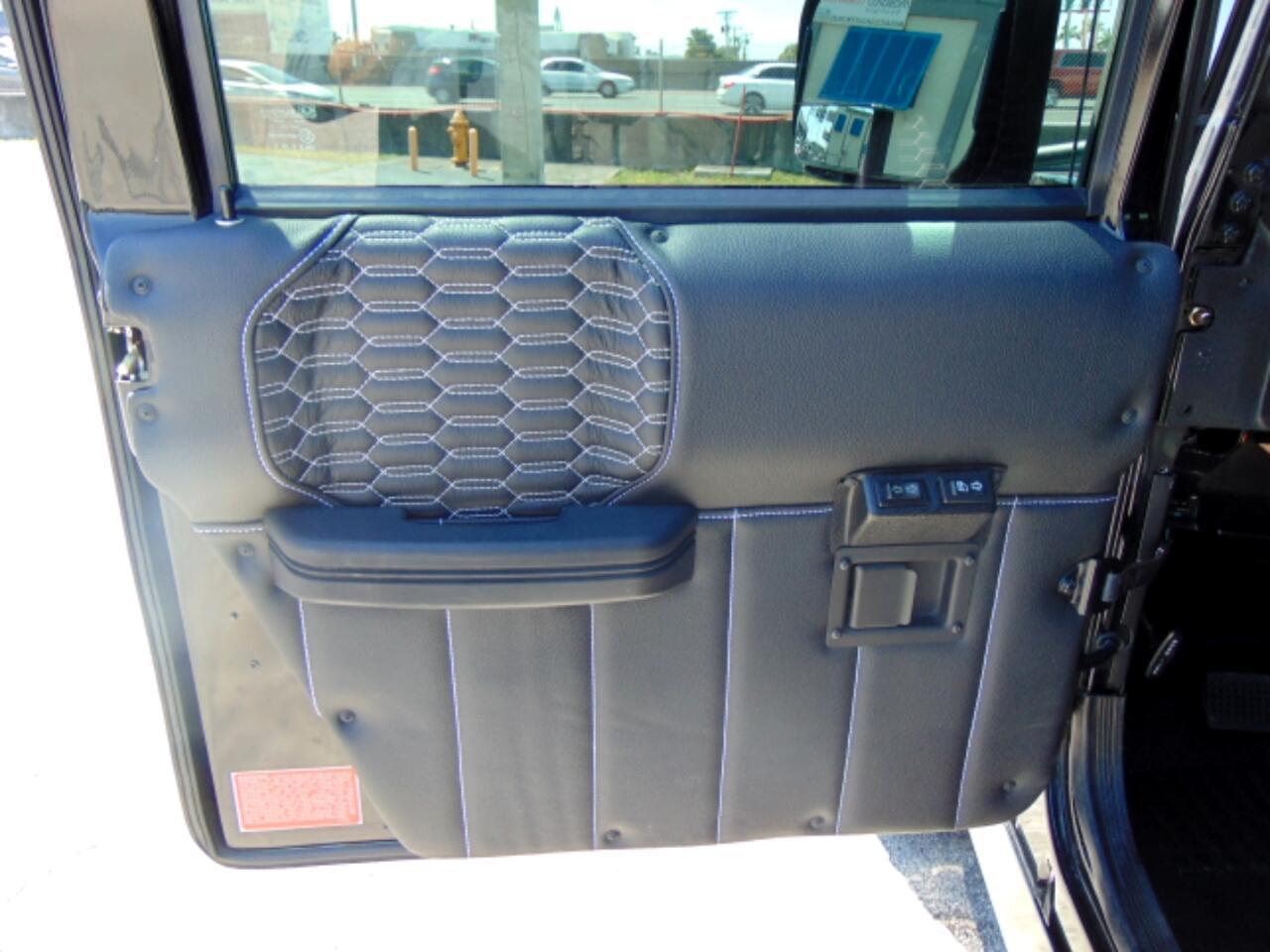2000 AM General Hummer 4-Passenger Hard Top