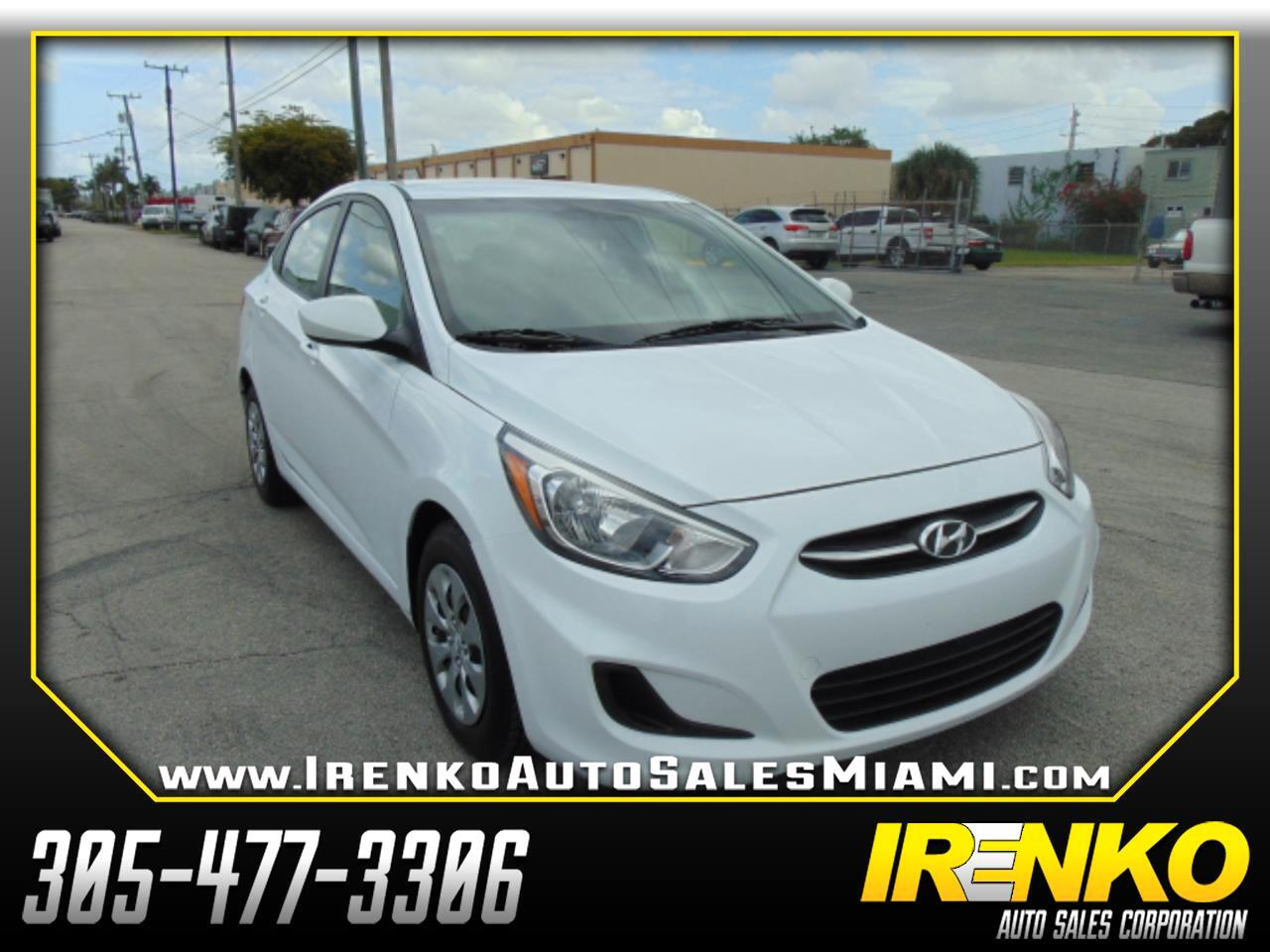 2017 Hyundai Accent SE Sedan Auto