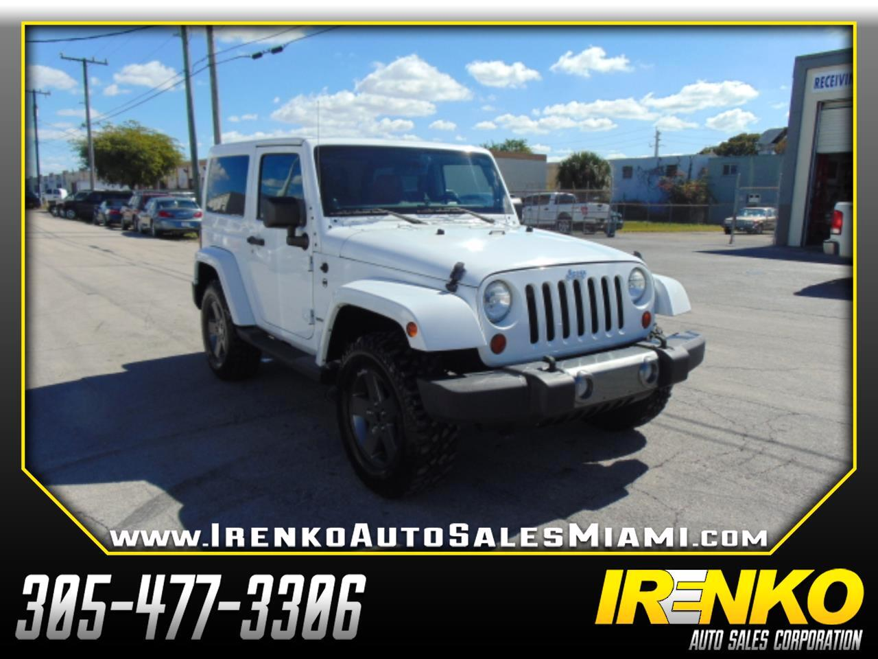 2011 Jeep Wrangler 4WD 2dr Mojave