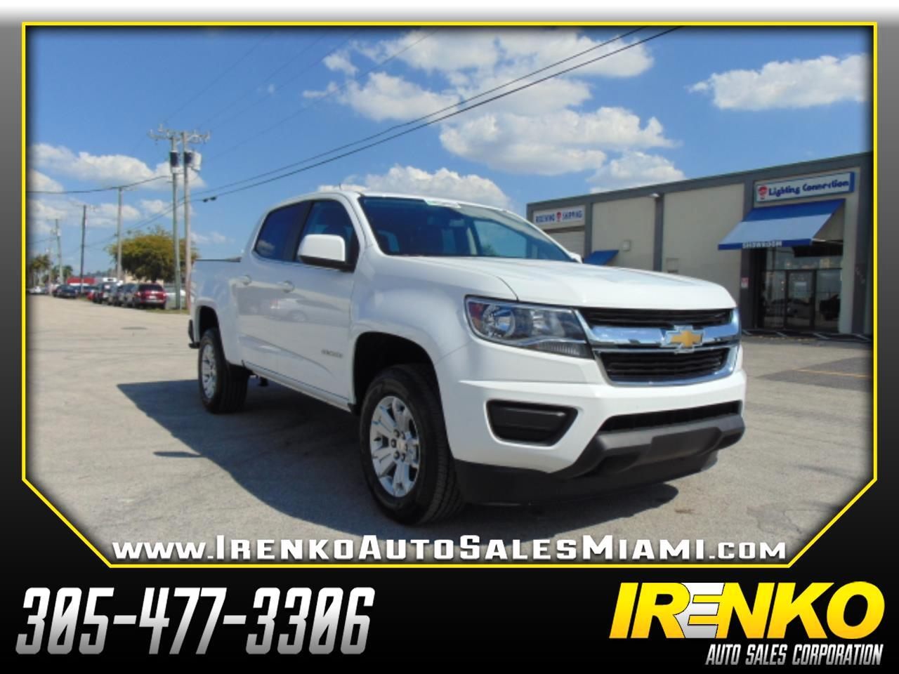 "2019 Chevrolet Colorado 2WD Crew Cab 128.3"" LT"