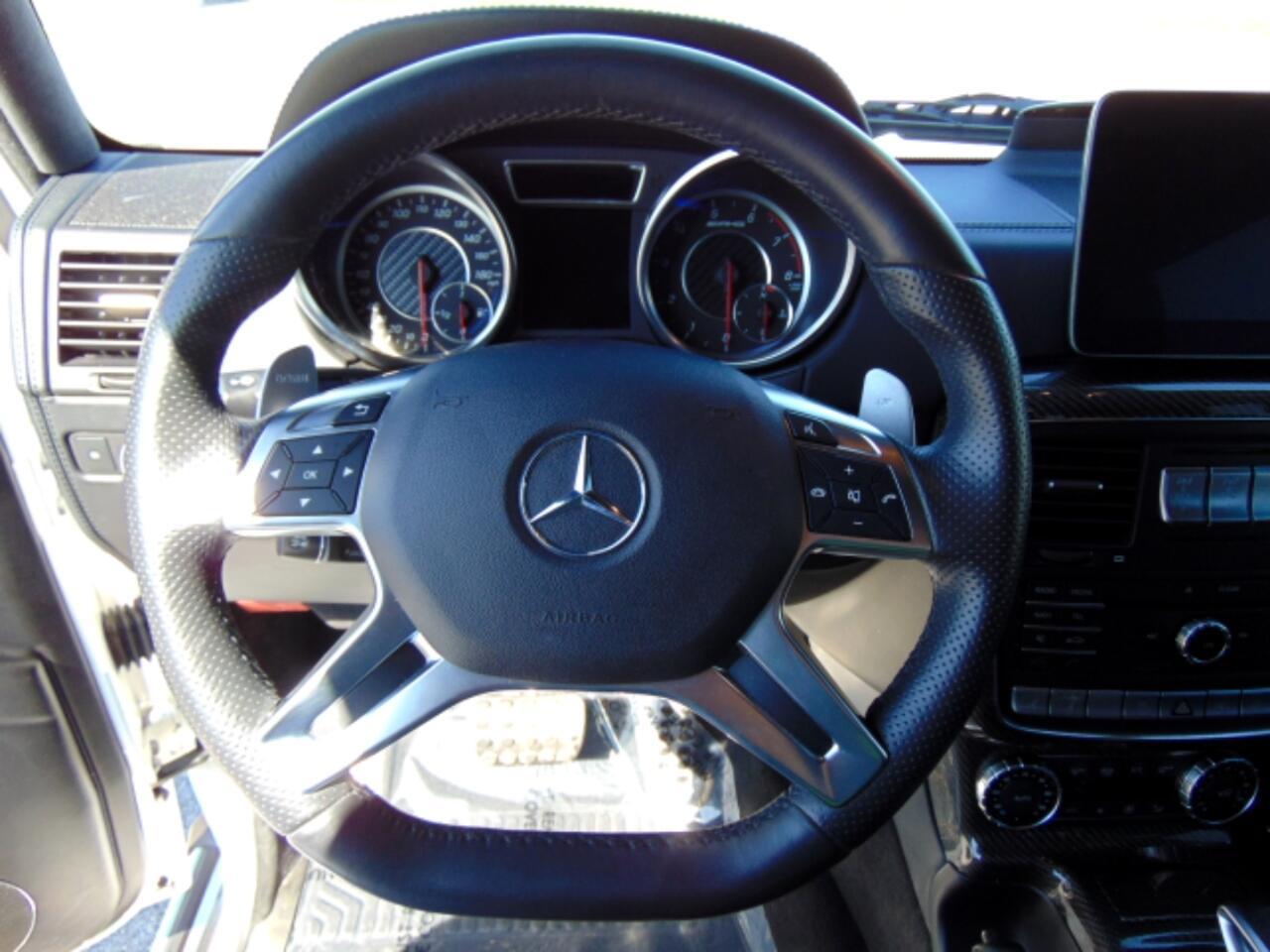2017 Mercedes-Benz G-Class AMG G 63 4MATIC SUV