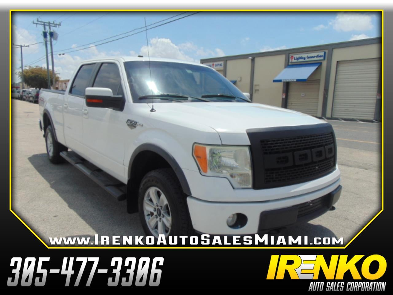 2010 Ford F-150 AWD SuperCrew 145
