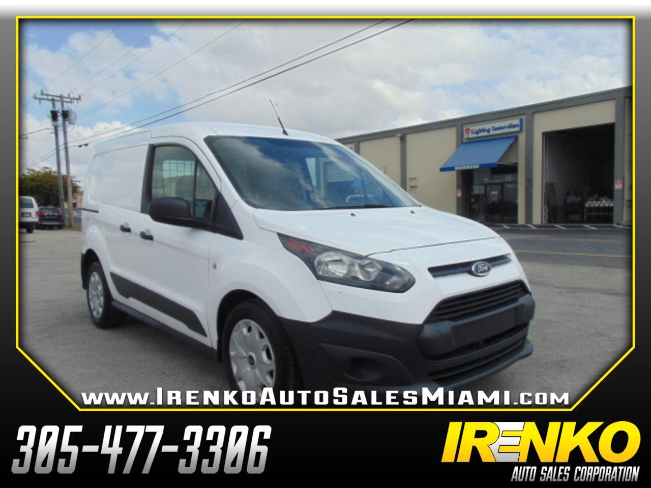 Ford Transit Connect Van XL SWB w/Rear Symmetrical Doors 2017