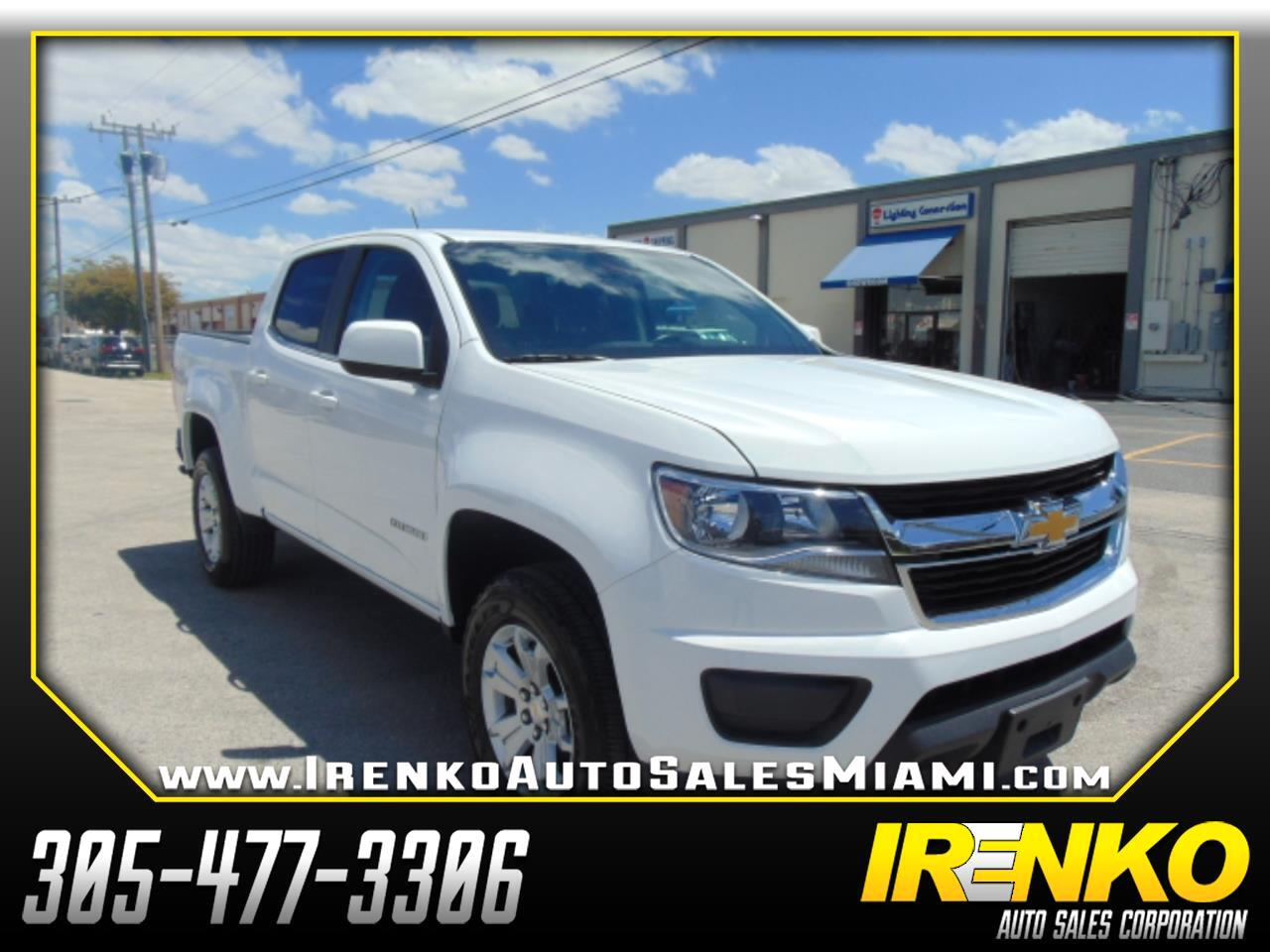2019 Chevrolet Colorado 2WD Crew Cab 128.3