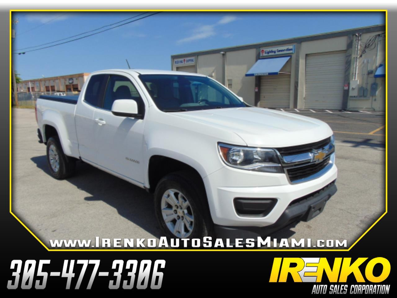"2017 Chevrolet Colorado 2WD Ext Cab 128.3"" LT"