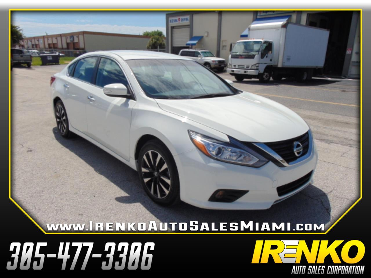 Nissan Altima 2.5 SL Sedan 2018