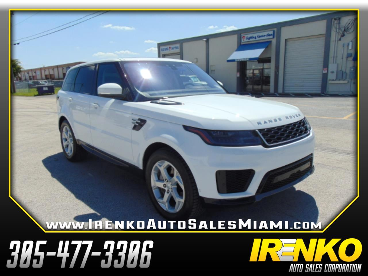 2019 Land Rover Range Rover Sport V6 Supercharged HSE *Ltd Avail*