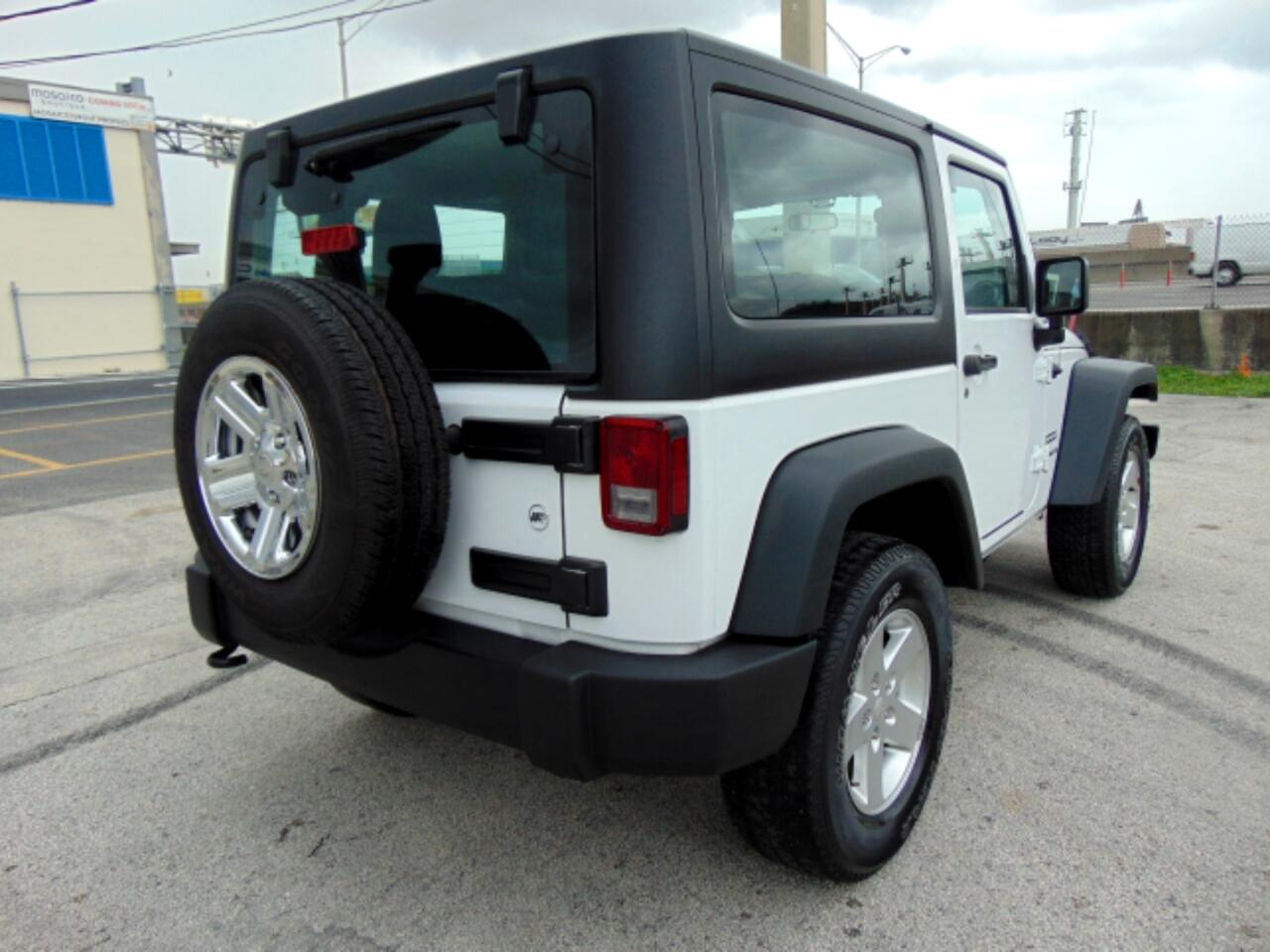 2017 Jeep Wrangler 4WD 2dr Sport