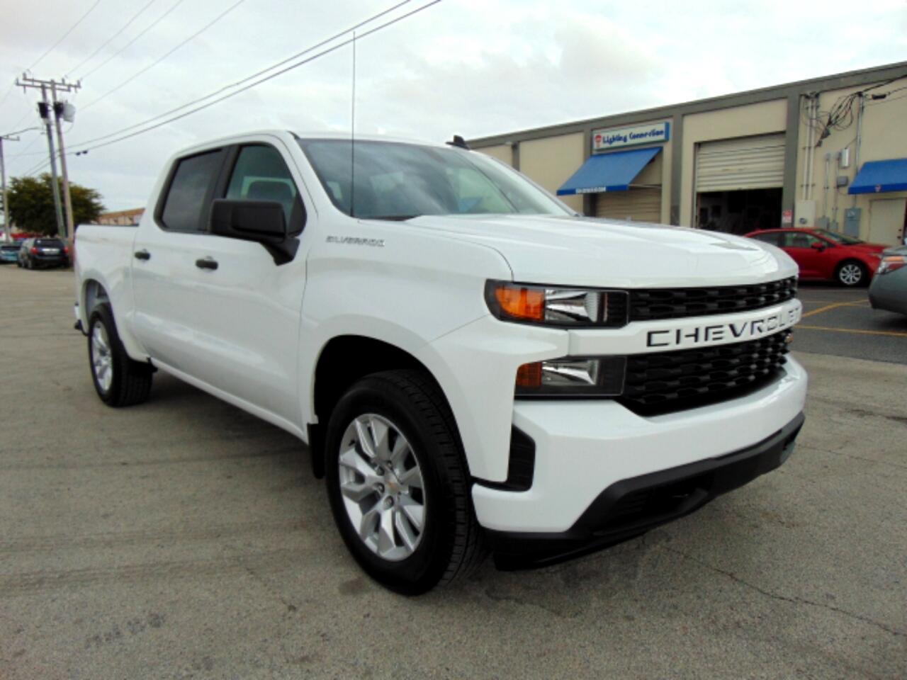 """Chevrolet Silverado 1500 2WD Crew Cab 147"""" Custom 2020"""