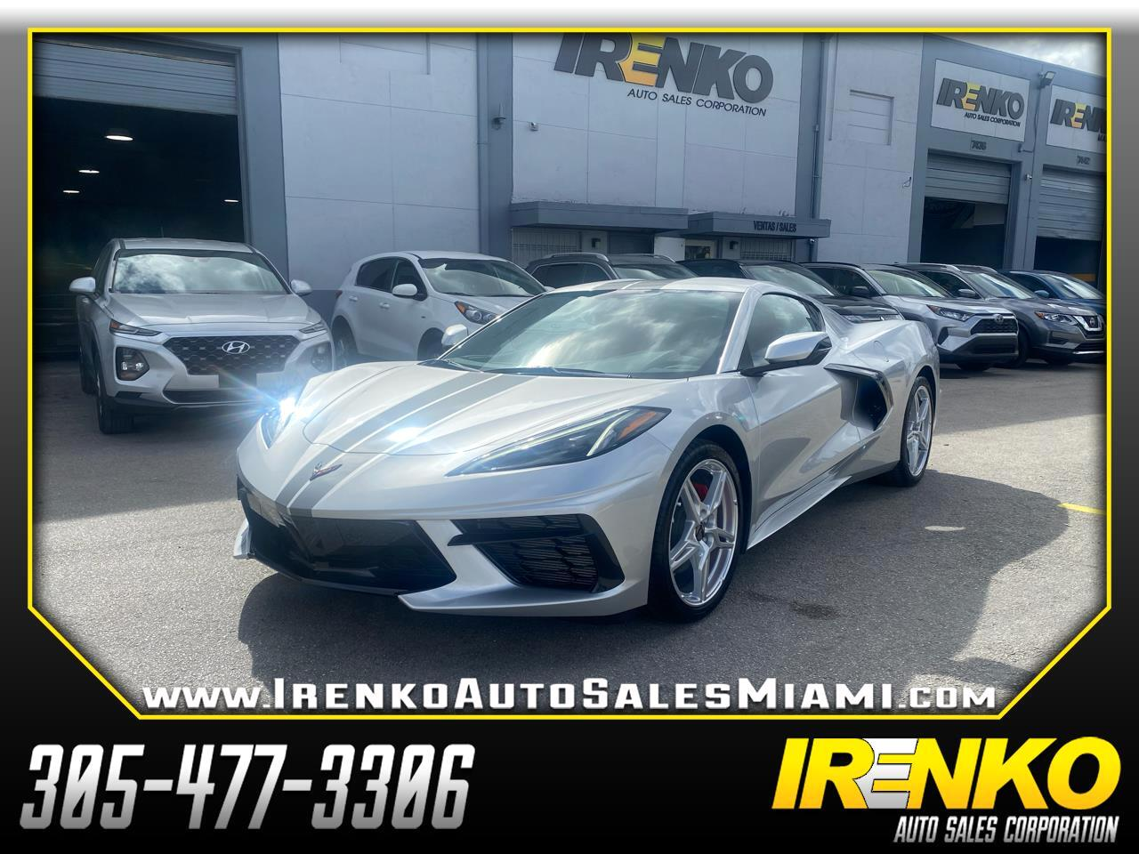 Chevrolet Corvette 2dr Stingray Cpe w/1LT 2020