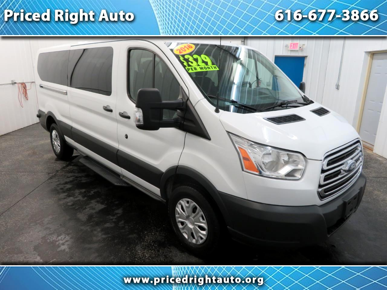 "2016 Ford Transit Wagon T-350 148"" Low Roof XLT Sliding RH Dr"