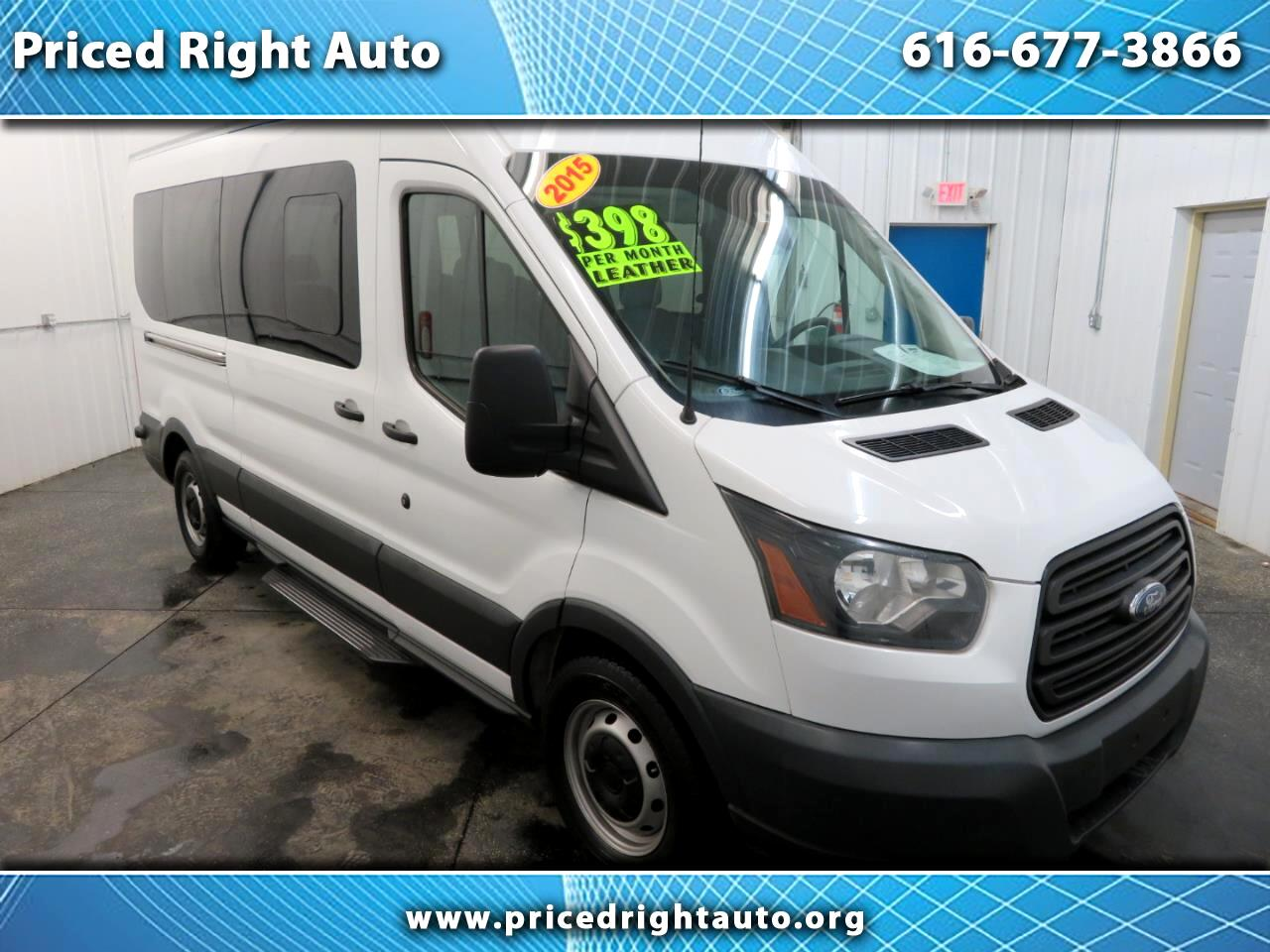 "2015 Ford Transit Wagon T-350 148"" High Roof XL Sliding RH Dr"