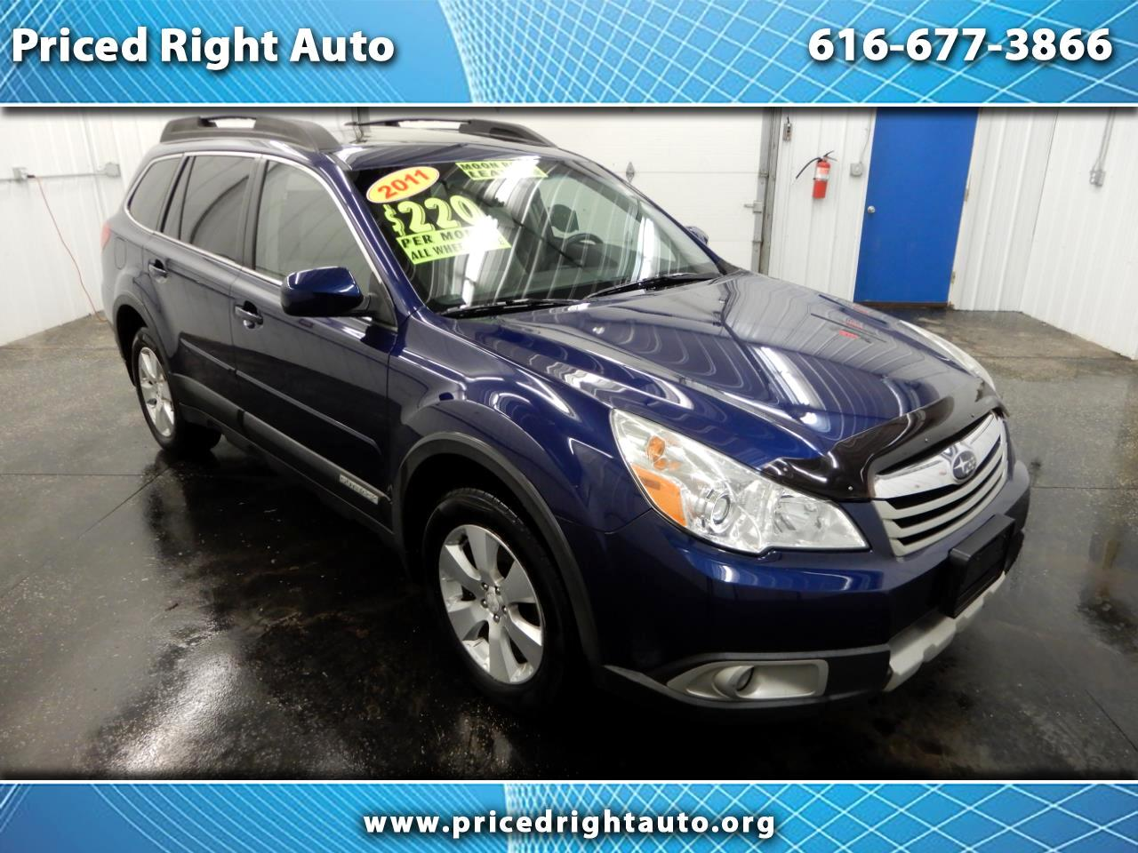 2011 Subaru Outback 4dr Wgn H6 Auto 3.6R Limited Pwr Moon