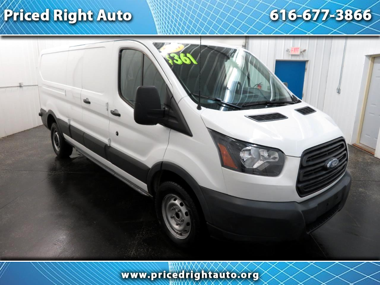 "2017 Ford Transit Van T-250 148"" Low Rf 9000 GVWR Swing-Out RH Dr"