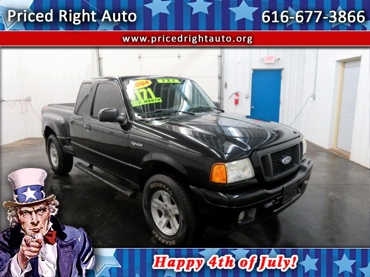 2004 Ford Ranger 4dr Supercab 4.0L XL Fleet 4WD