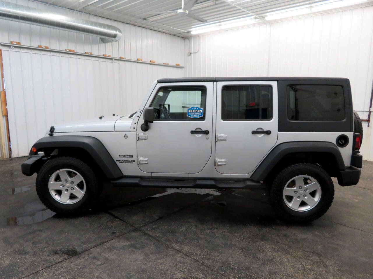 Jeep Wrangler Unlimited 4WD 4dr Sport 2011