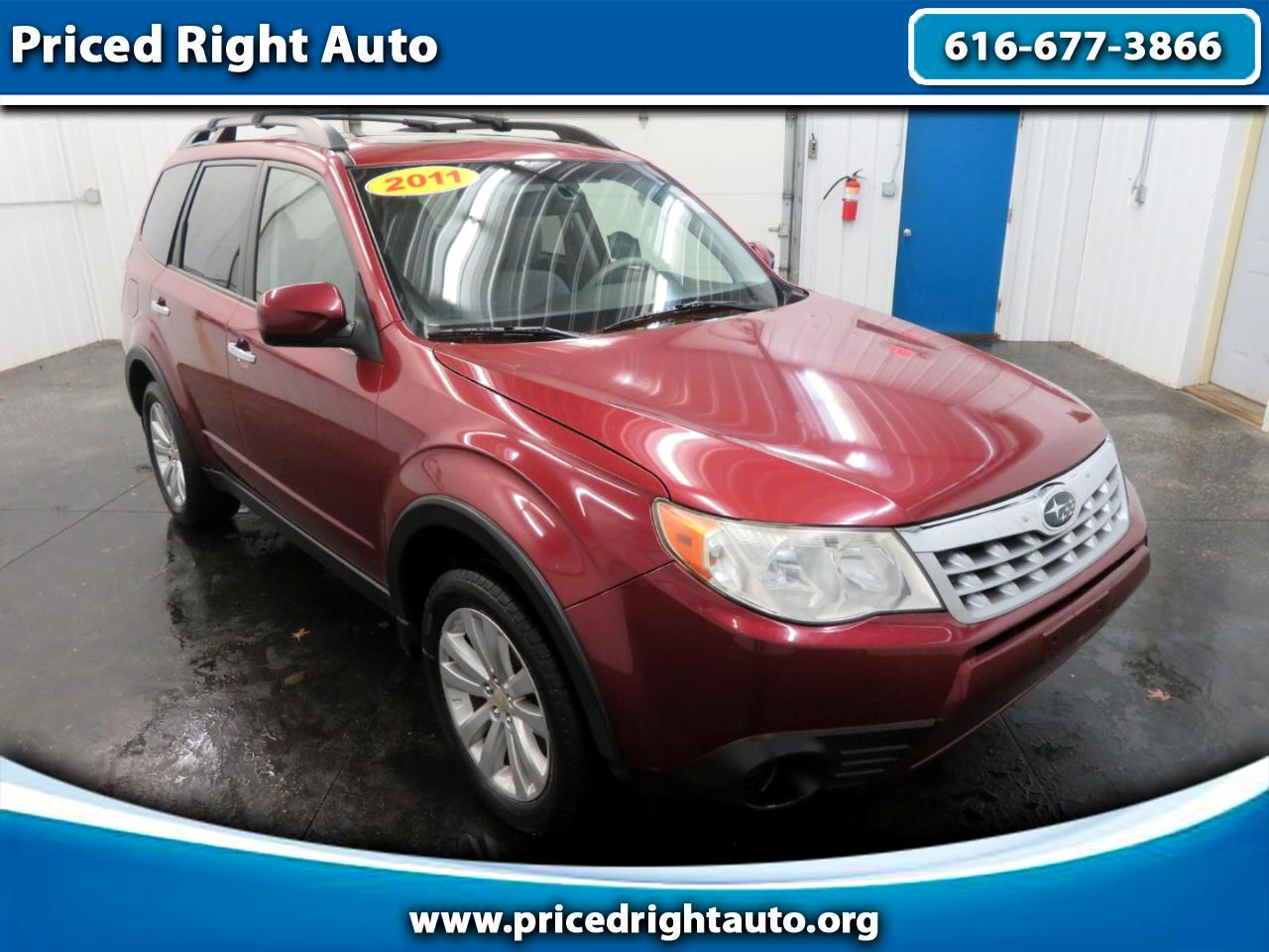 Subaru Forester 4dr Man 2.5X Premium w/All-Weather Pkg 2011