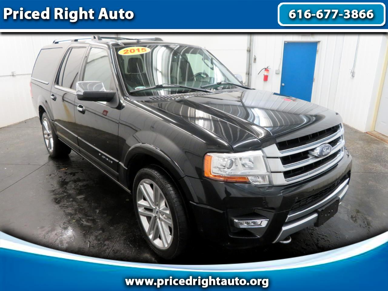 Ford Expedition EL 4WD 4dr Platinum 2015