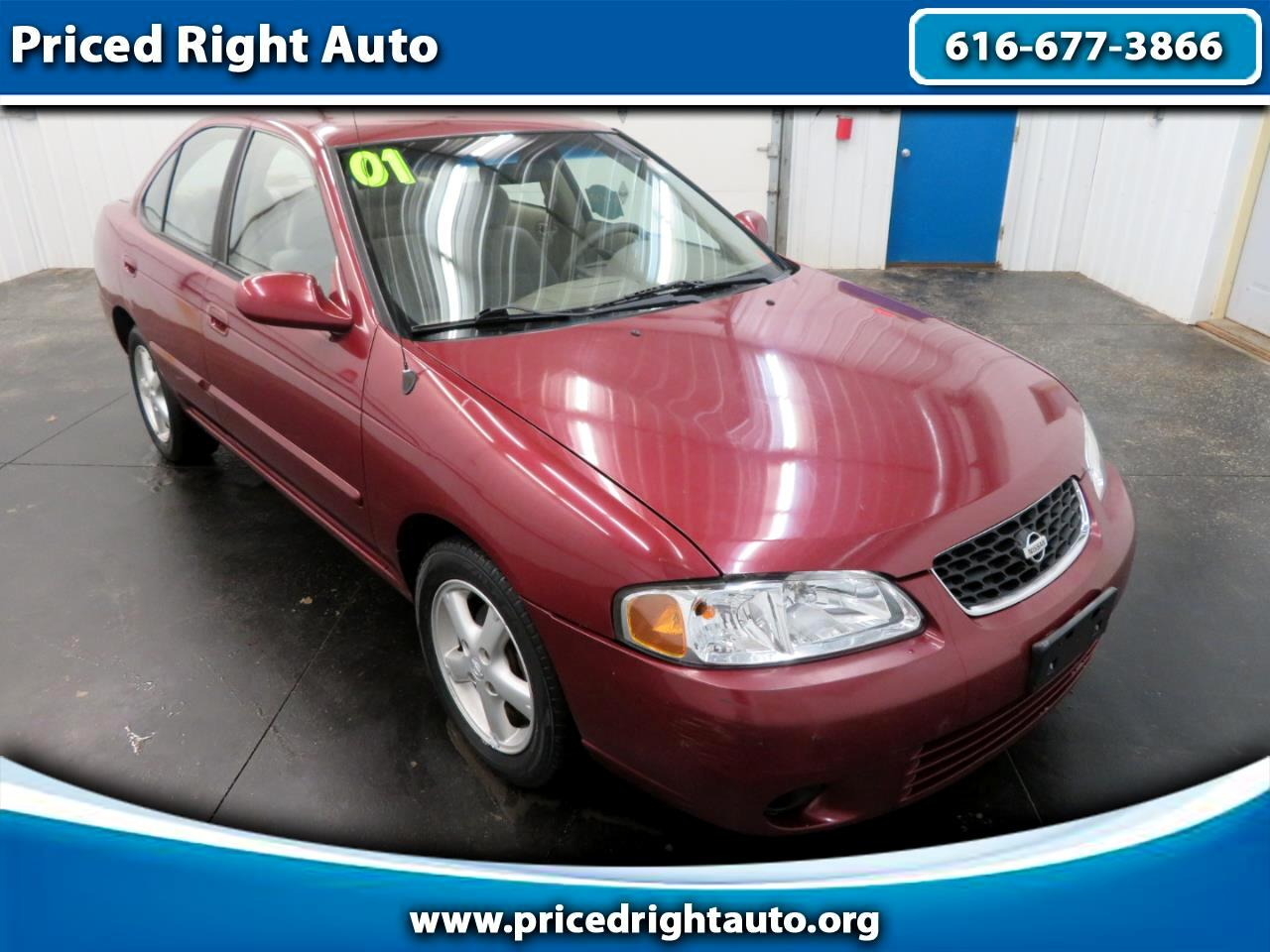 Nissan Sentra 4dr Sdn GXE Auto 2001