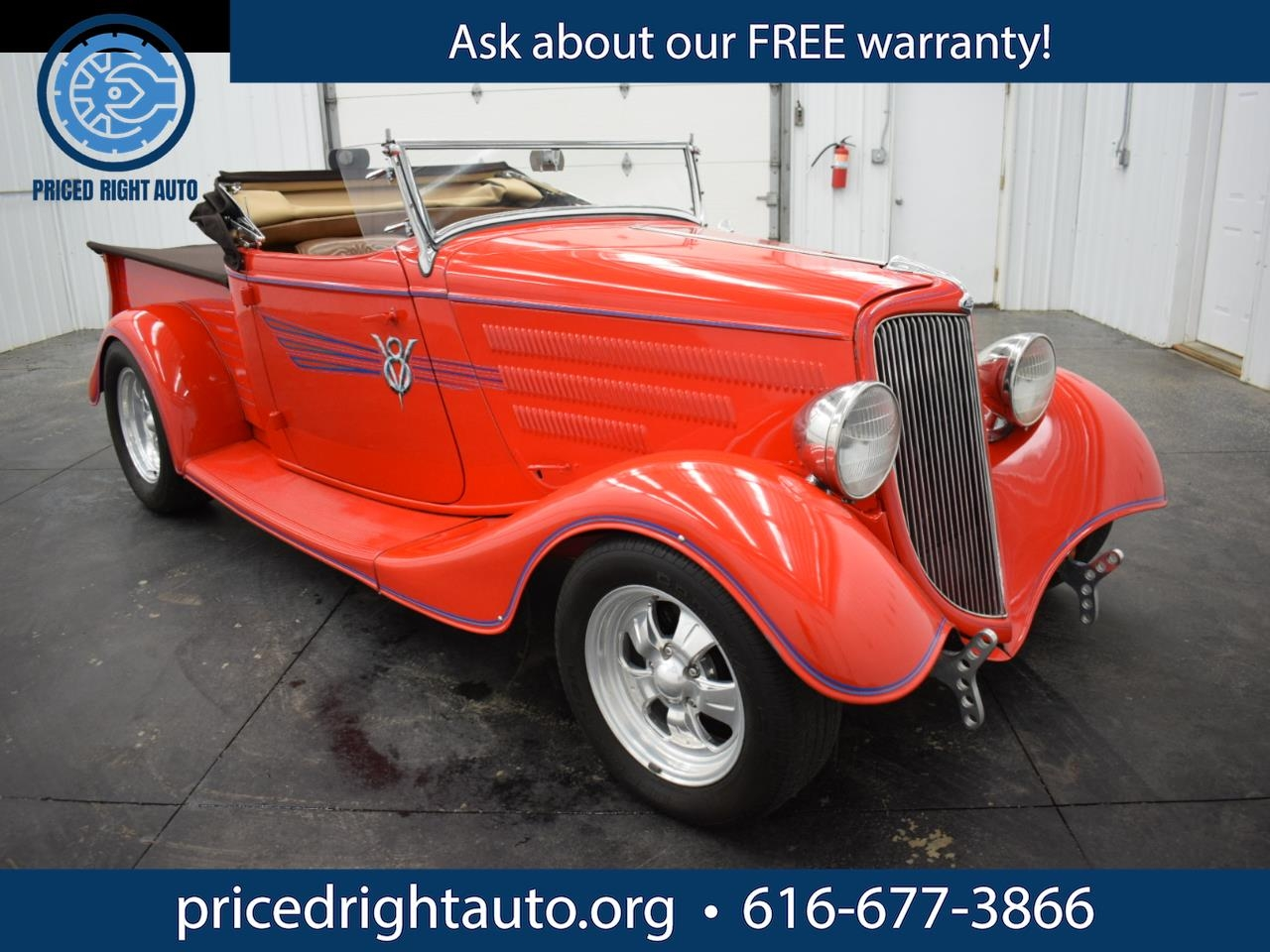 Ford Pick-up Truck  1934