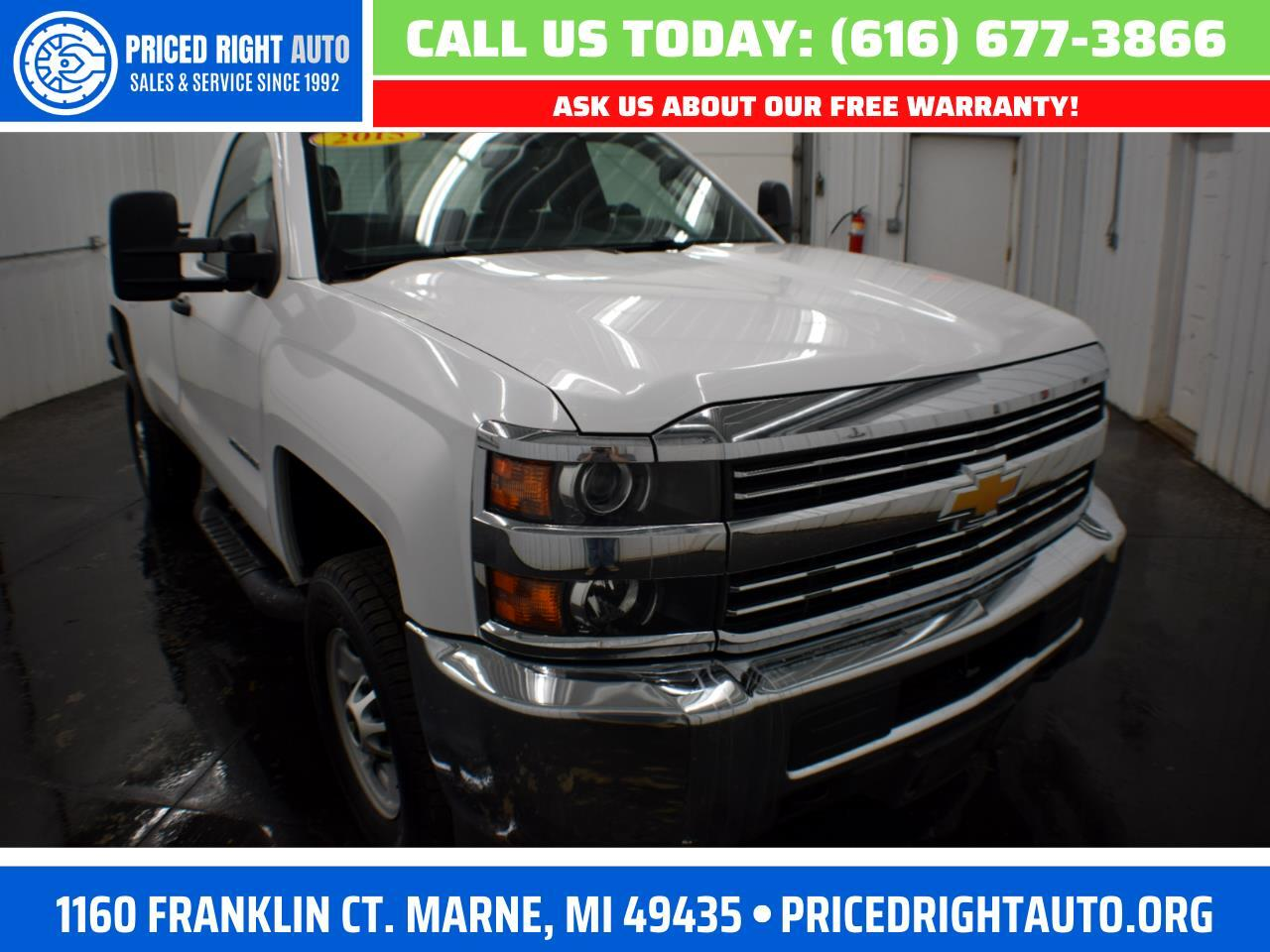 Chevrolet Silverado 2500HD Work Truck Long Box 4WD 2015