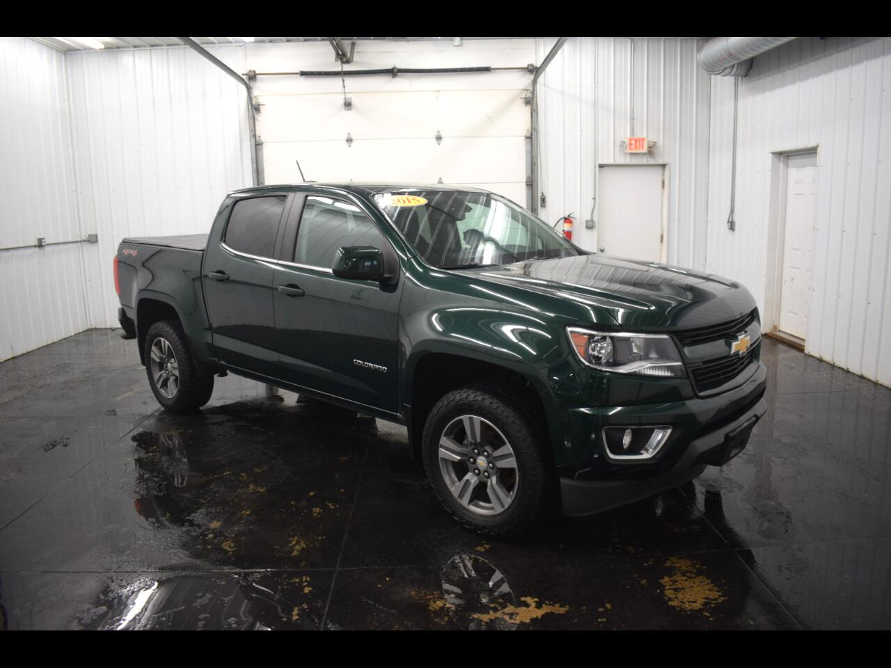 Chevrolet Colorado LT Crew Cab 4WD Long Box 2015