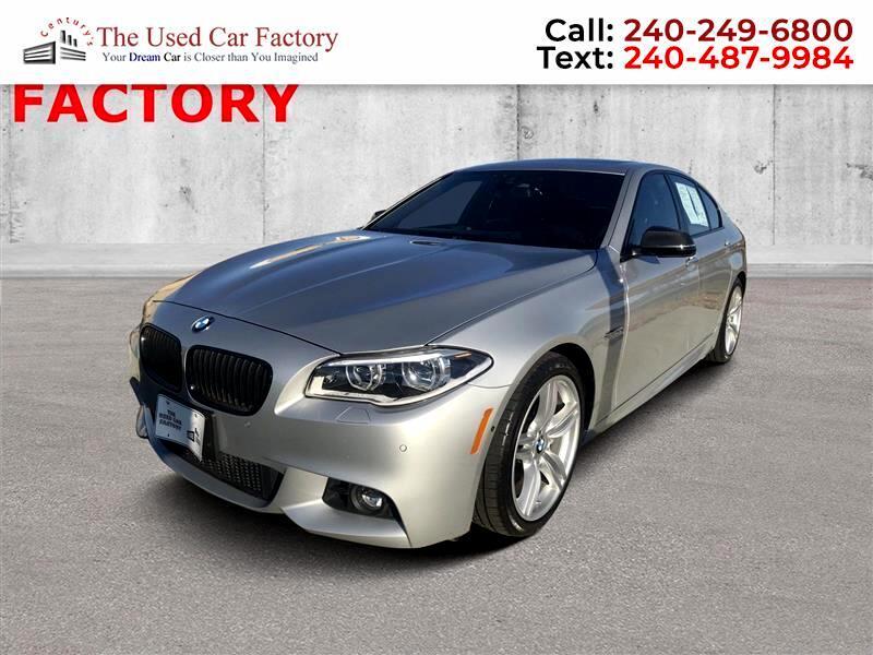 2016 BMW 5-Series 550i