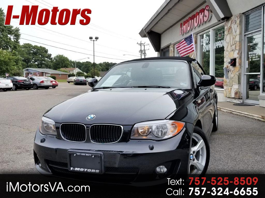 BMW 1-Series 128i Convertible 2012