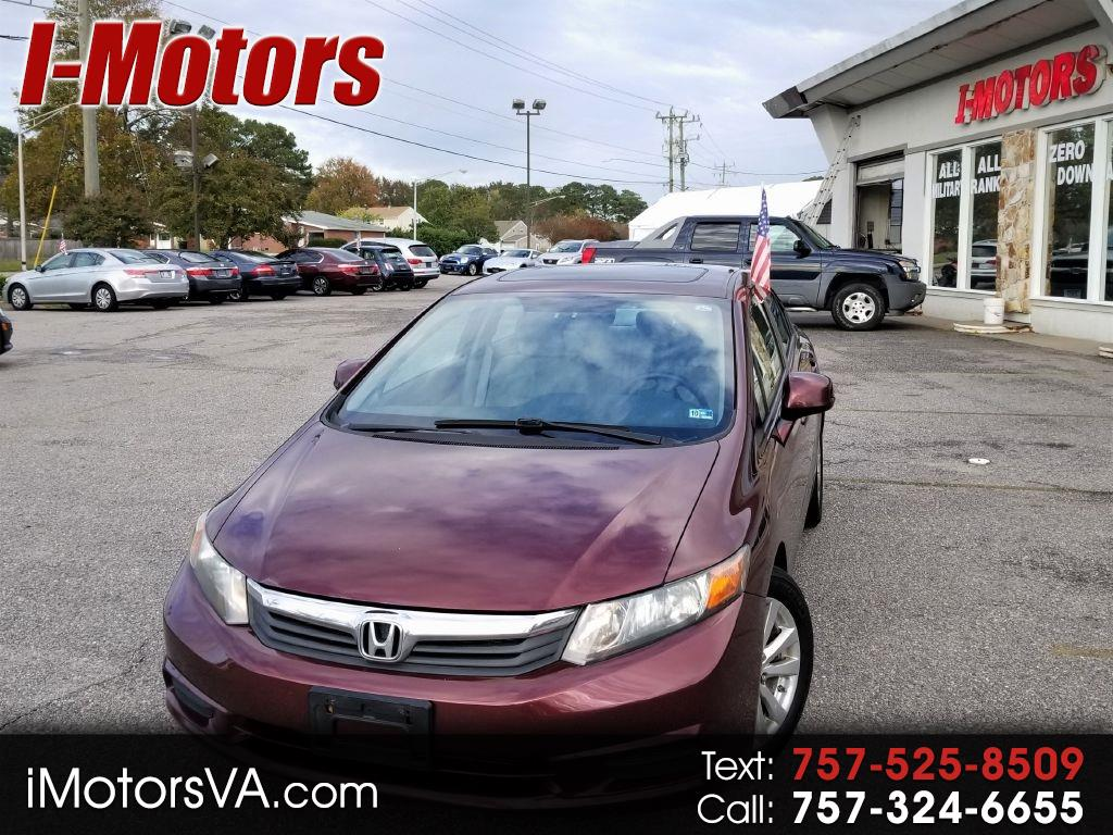 Honda Civic EX sedan AT 2012