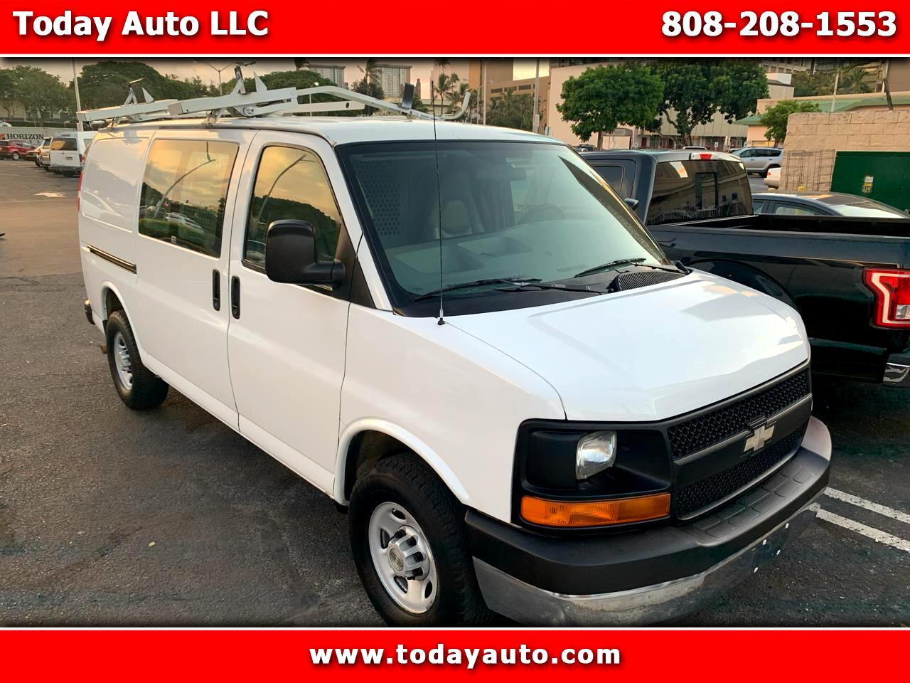 "Chevrolet Express Cargo Van 2500 135"" WB 2009"