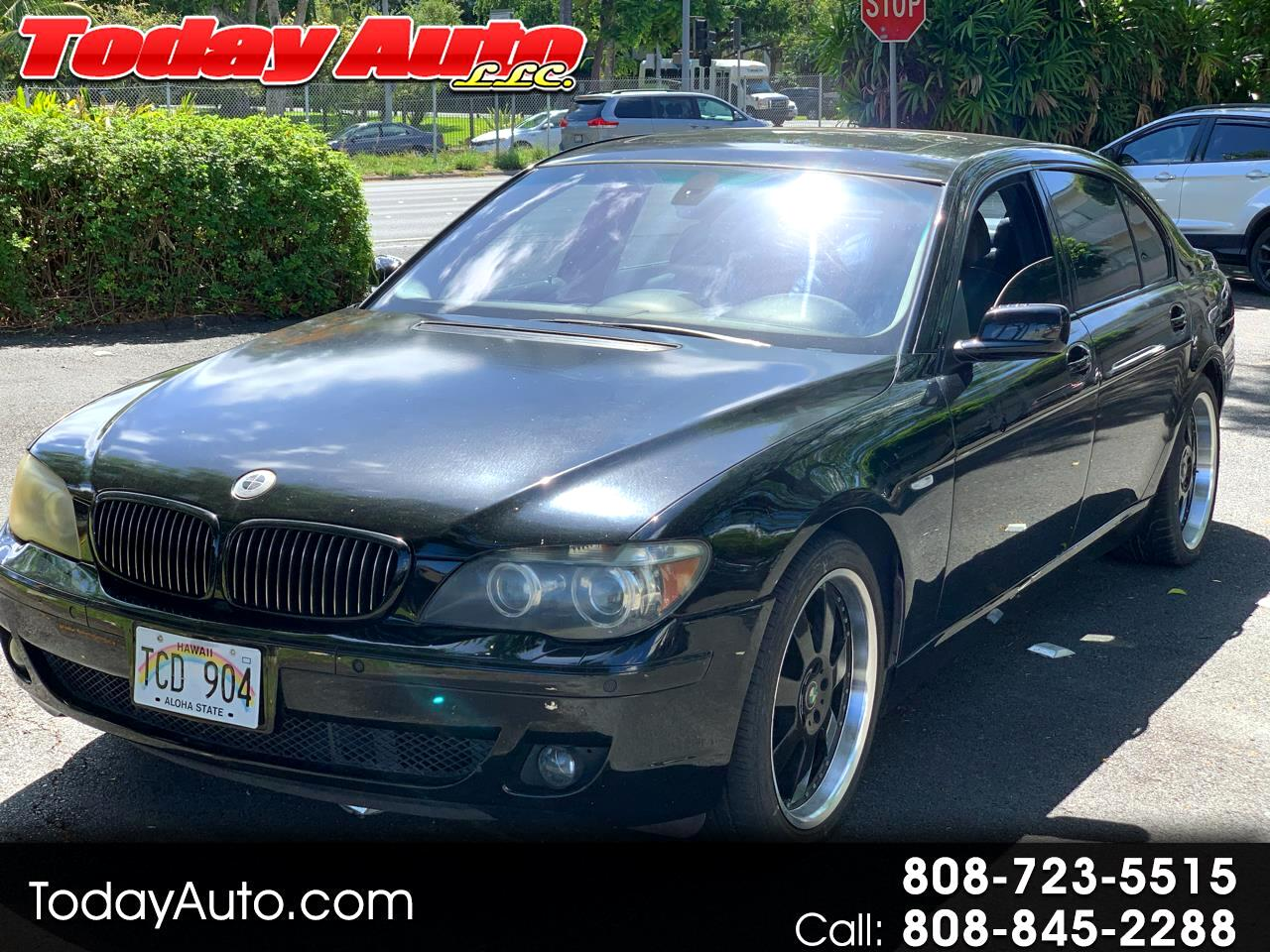 BMW 7 Series 760Li 4dr Sdn 2006