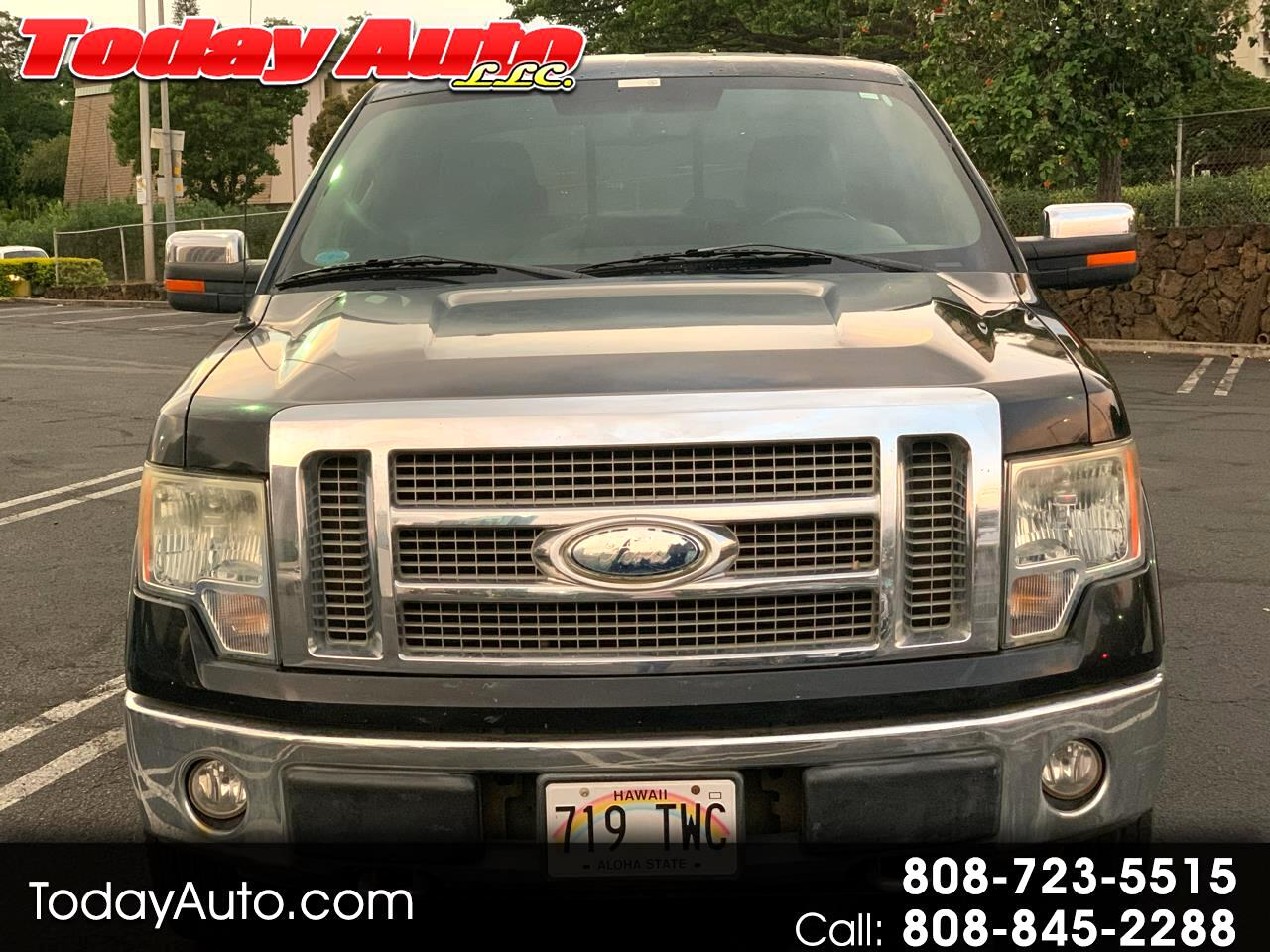 Ford F-150 Lariat SuperCab Short Bed 4WD 2009