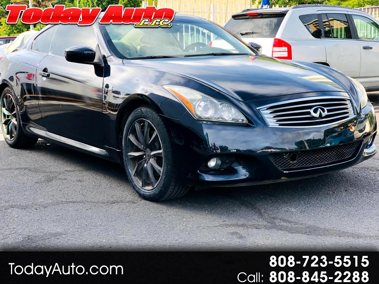 Infiniti G37 Coupe 2dr Journey RWD 2012