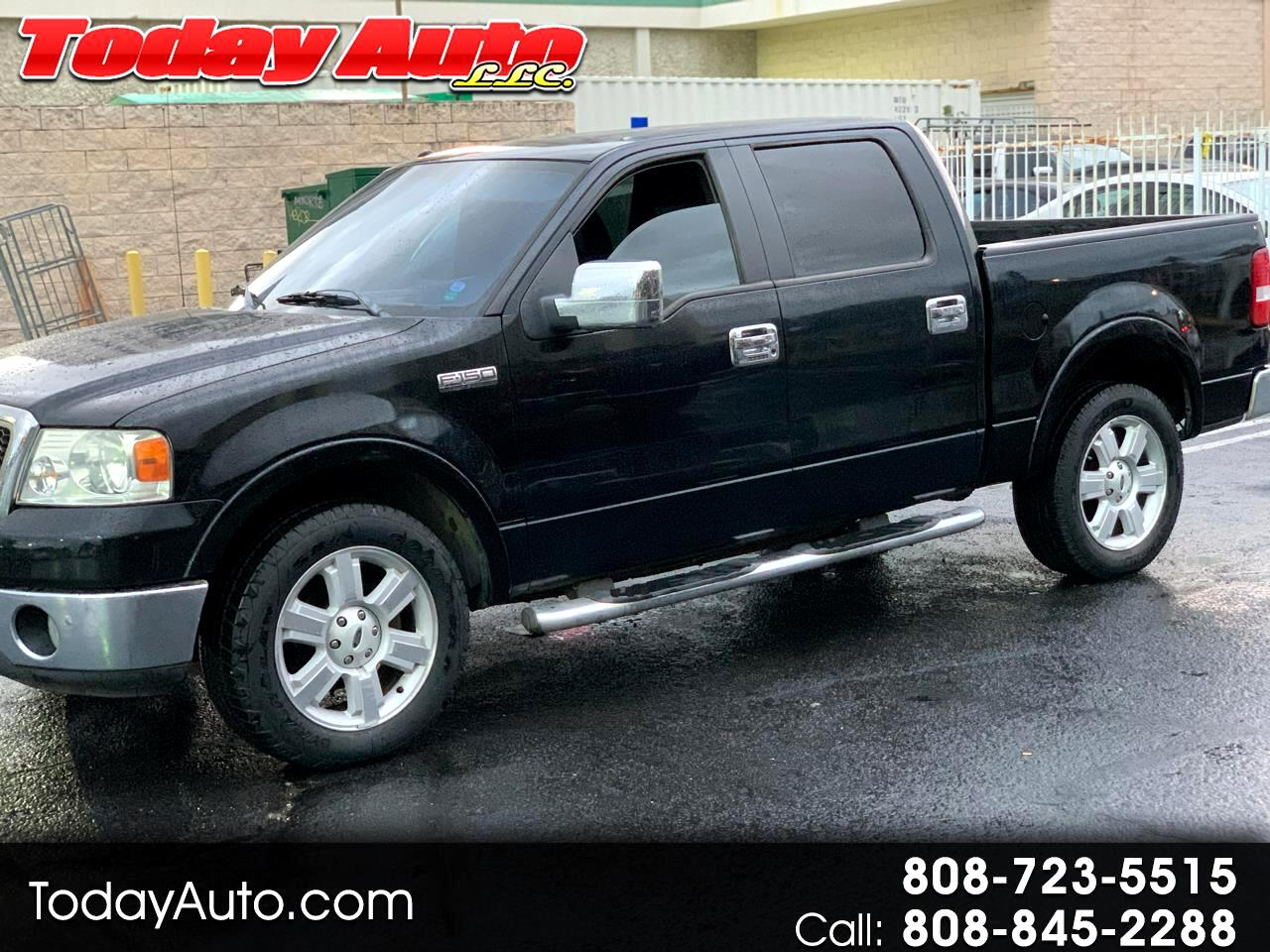 "Ford F-150 2WD SuperCrew 157"" Lariat 2007"