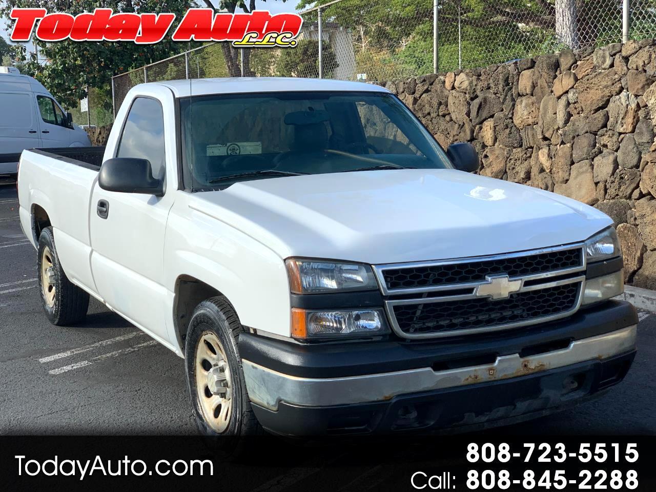 """Chevrolet Silverado 1500 Reg Cab 133.0"""" WB 2WD Work Truck 2006"""
