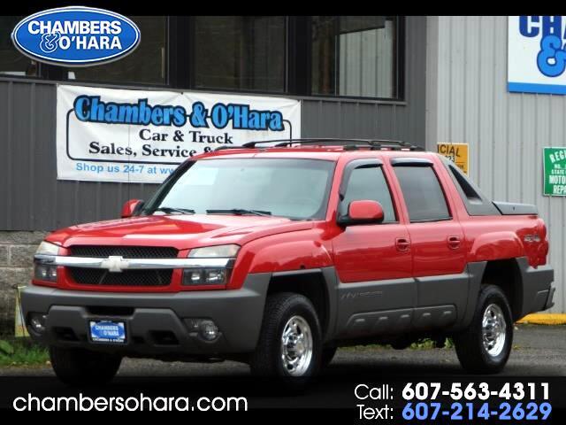 2002 Chevrolet Avalanche 2500 4WD