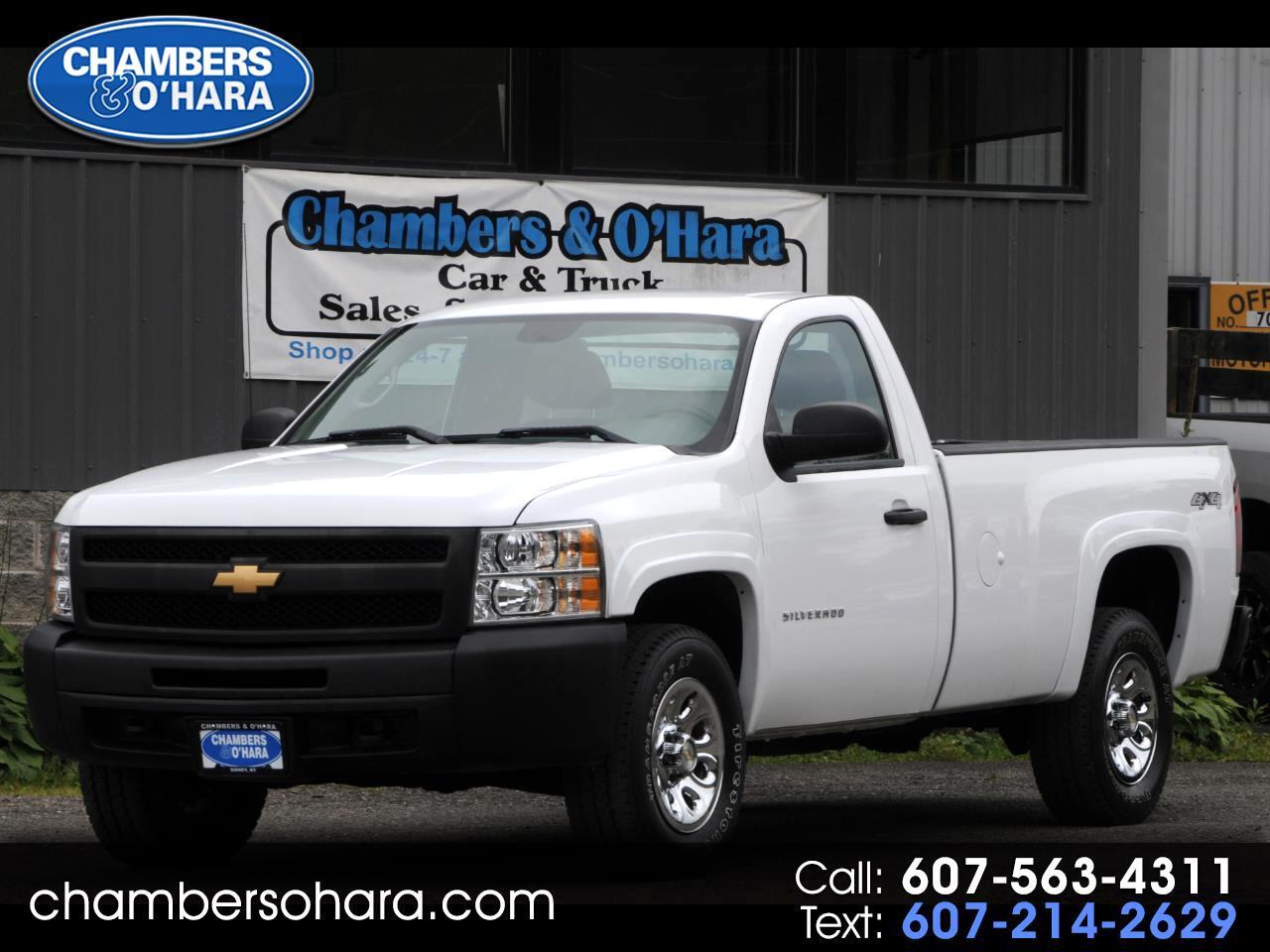 2013 Chevrolet Silverado 1500 Work Truck Long Box 4WD