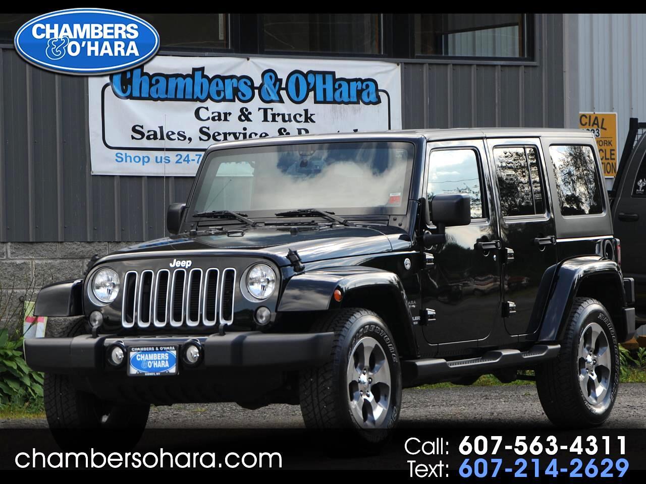 2017 Jeep Wrangler Unlimited Sahara 4WD
