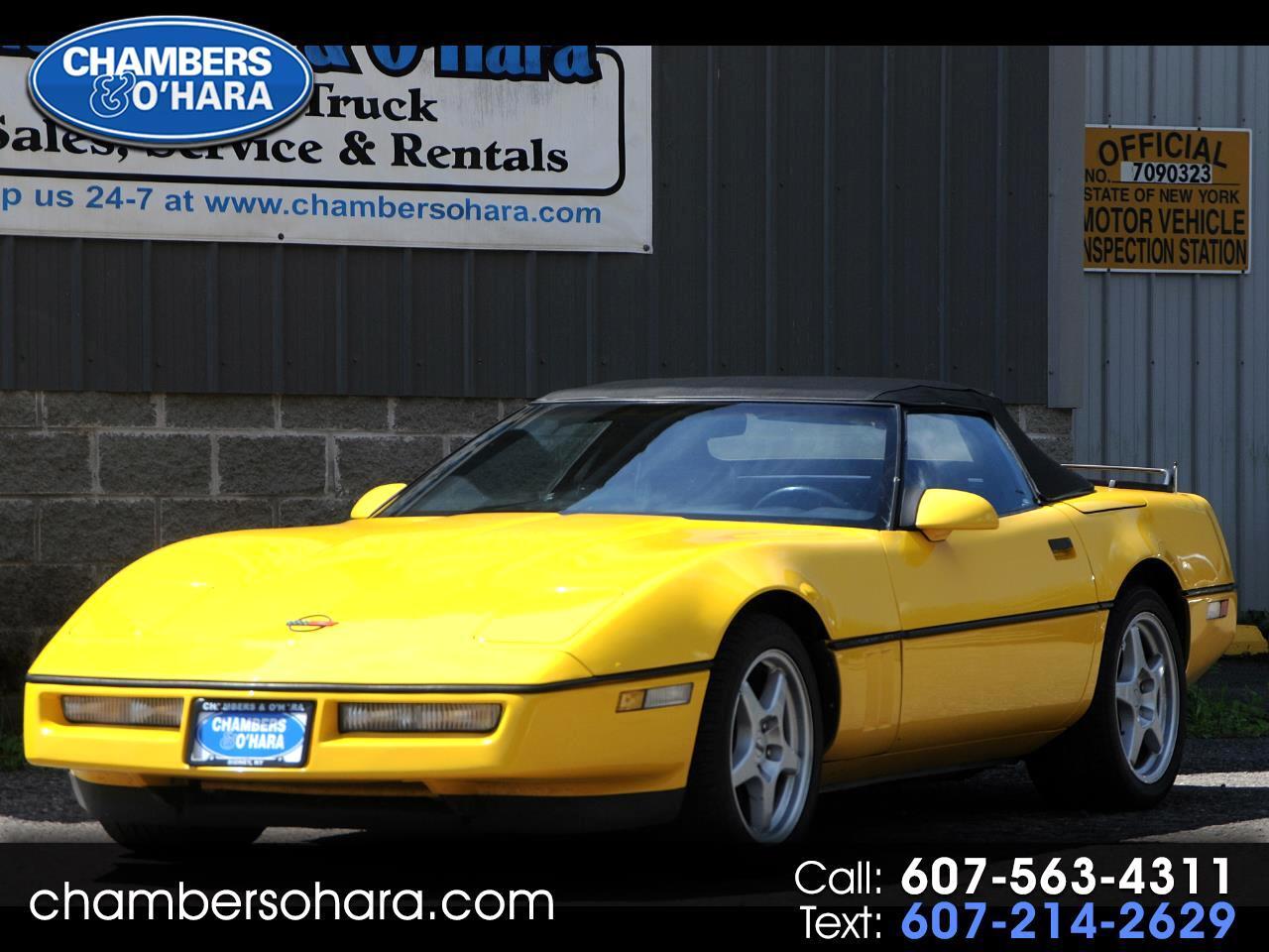Chevrolet Corvette Convertible 1990