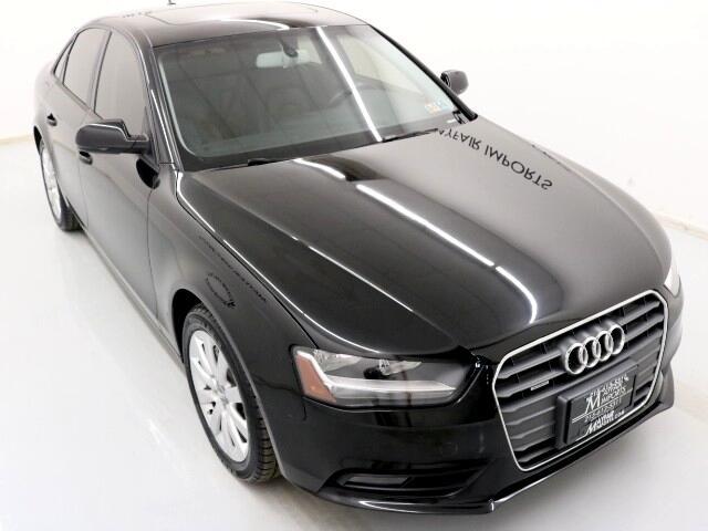 2014 Audi A4 2.0 TFSI Auto Premium Plus quattro AWD