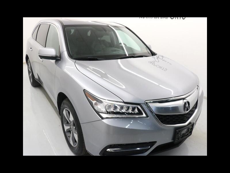 2016 Acura MDX SH-AWD 9-Spd AT