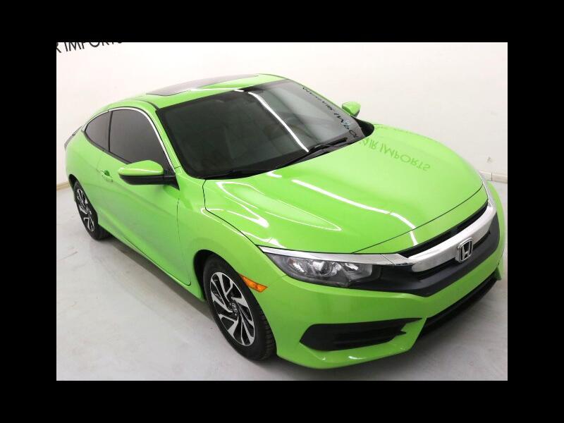 2016 Honda Civic LX-P Coupe CVT