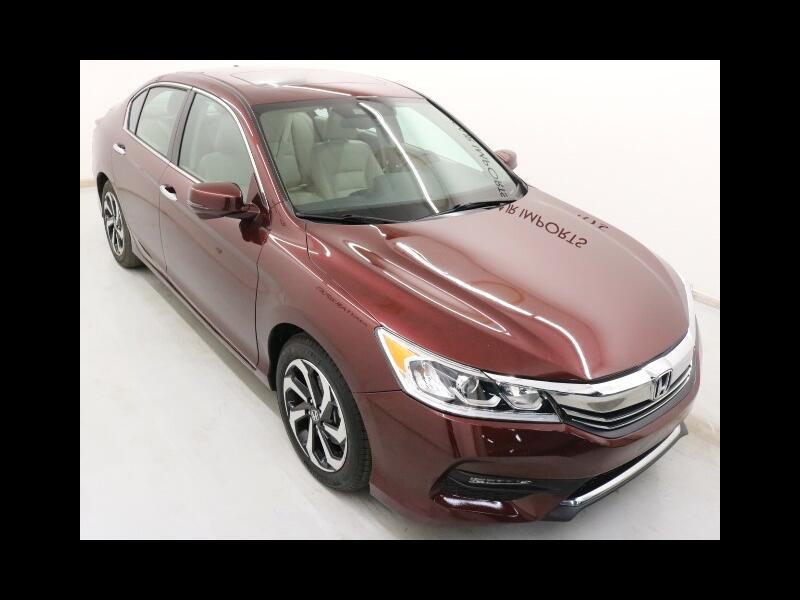 2016 Honda Accord EX-L Sedan CVT
