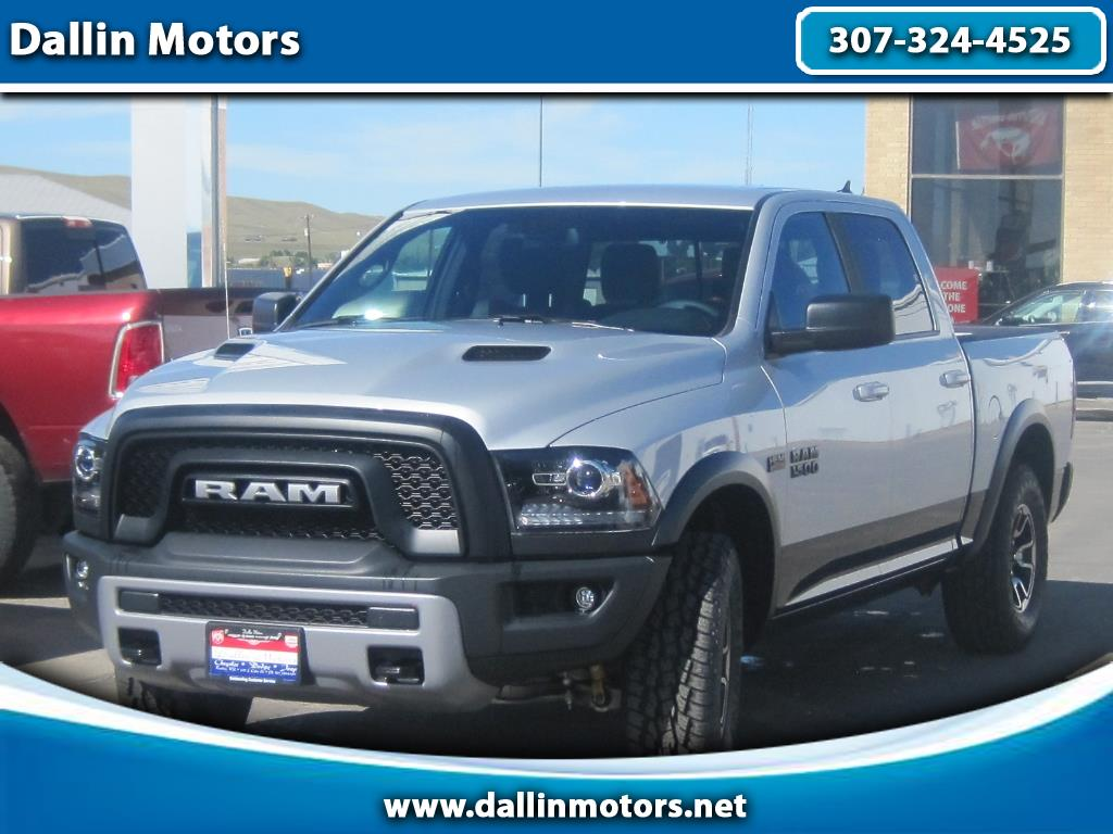 "2018 RAM 1500 Rebel 4x4 Crew Cab 5'7"" Box"