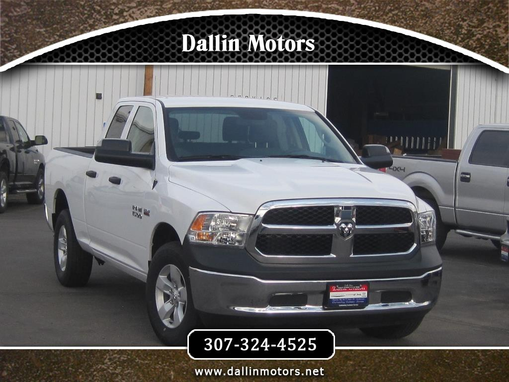 "2018 RAM 1500 Tradesman 4x4 Quad Cab 6'4"" Box"